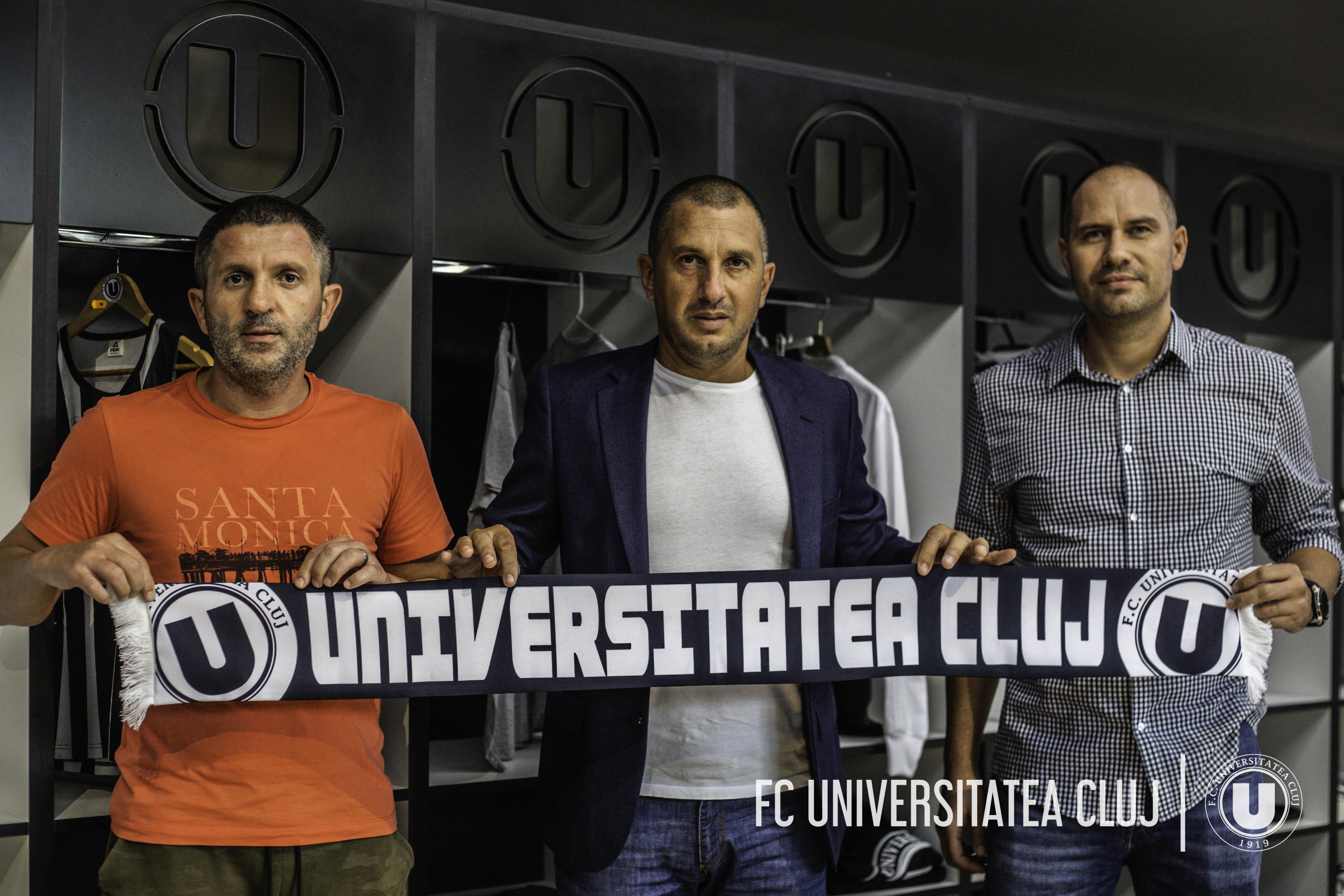 Noul staff al Universității
